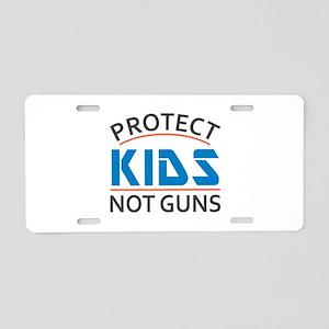 Protect Kids Not Guns Gun C Aluminum License Plate