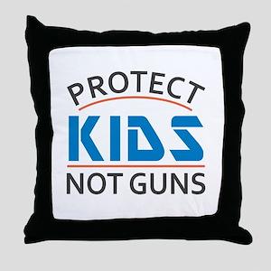 Protect Kids Not Guns Gun Control Throw Pillow