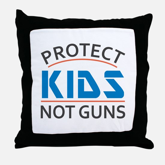 Protect Kids Not Guns Gun Control Throw Pillow