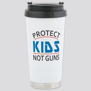 Protect Kids Not 16 oz Stainless Steel Travel Mug