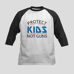 Protect Kids Not Guns Gun Contro Kids Baseball Tee