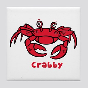 Crabby Crab Tile Coaster