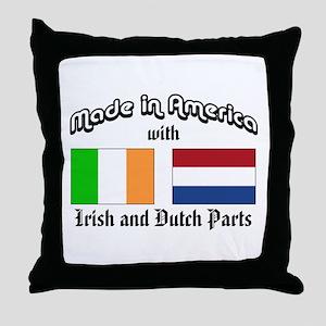 Irish-Dutch Throw Pillow