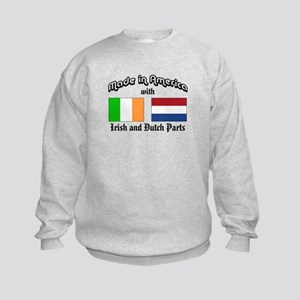 Irish-Dutch Kids Sweatshirt