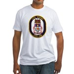 USS BOONE Fitted T-Shirt