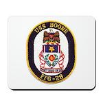 USS BOONE Mousepad