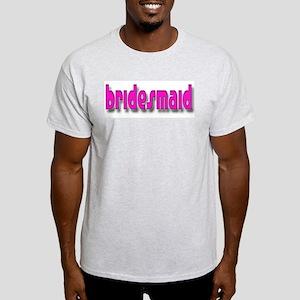Bridesmaid Casual #1 Ash Grey T-Shirt
