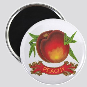 Peachy White Magnet