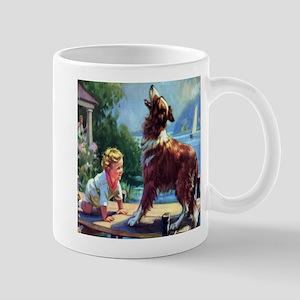 Protector Collie  Mug