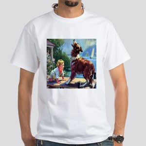 Protector Collie White T-Shirt
