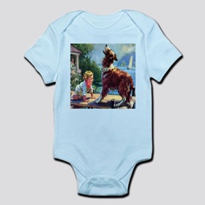 Protector Collie  Infant Creeper
