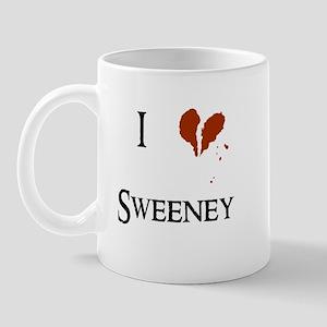 I heart Sweeney Mug