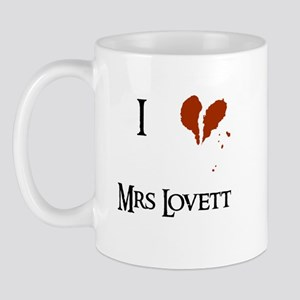 I heart Mrs. Lovett Mug