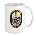 USS CARR Large Mug