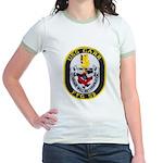 USS CARR Jr. Ringer T-Shirt