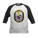 USS CARR Kids Baseball Jersey