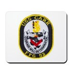 USS CARR Mousepad