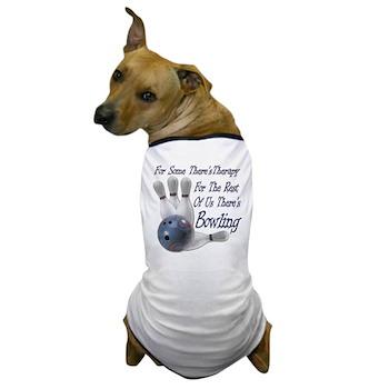 Bowling Therapy Dog T-Shirt
