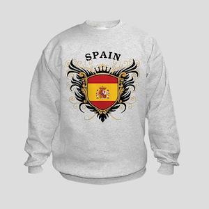 Spain Kids Sweatshirt