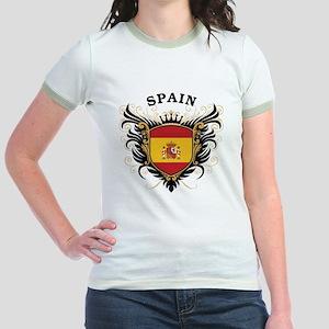 Spain Jr. Ringer T-Shirt