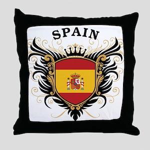 Spain Throw Pillow