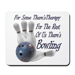 Bowling Therapy Mousepad