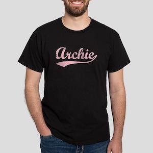 Vintage Archie (Pink) Dark T-Shirt