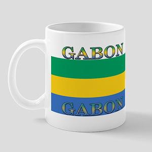 Gabon Gabonese Flag Mug