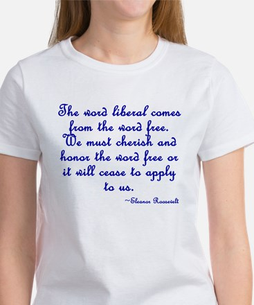 The Word Liberal Women's T-Shirt