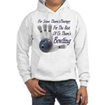 Bowling Therapy Hooded Sweatshirt