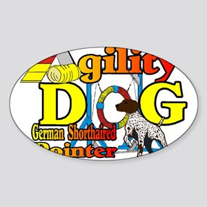 German Shorthair Agility Sticker