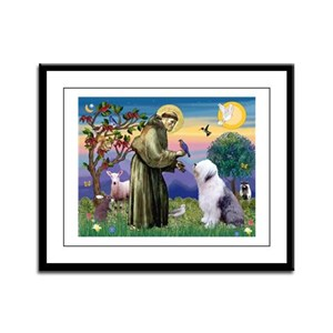 ST. FRANCIS + OES Framed Panel Print