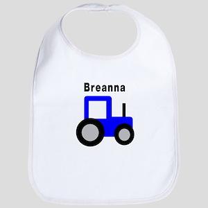 Breanna - Blue Tractor Bib