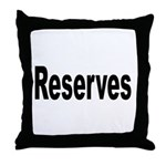 Reserves Throw Pillow
