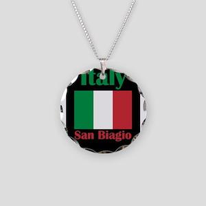 San Biagio Italy Necklace