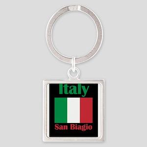 San Biagio Italy Keychains