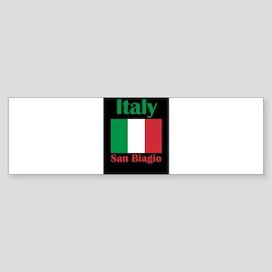 San Biagio Italy Bumper Sticker