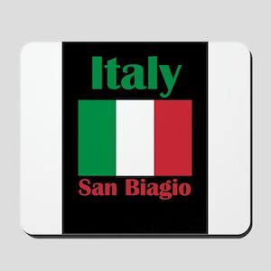 San Biagio Italy Mousepad