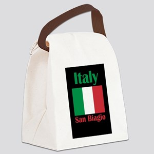 San Biagio Italy Canvas Lunch Bag
