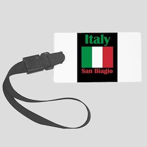 San Biagio Italy Luggage Tag