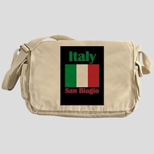 San Biagio Italy Messenger Bag