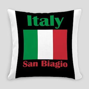 San Biagio Italy Everyday Pillow