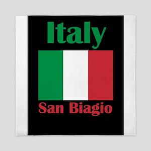San Biagio Italy Queen Duvet