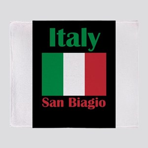 San Biagio Italy Throw Blanket