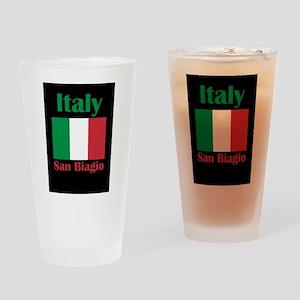 San Biagio Italy Drinking Glass