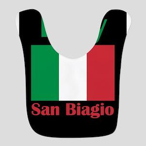 San Biagio Italy Polyester Baby Bib