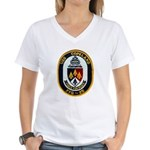 USS COPELAND Women's V-Neck T-Shirt