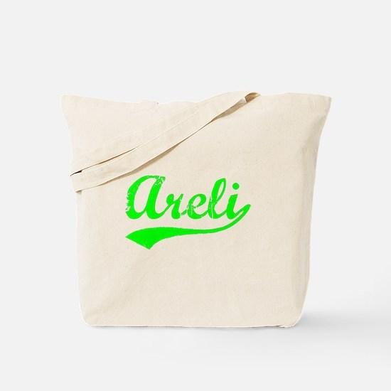 Vintage Areli (Green) Tote Bag