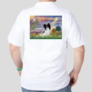 Cloud Angel & Papillon Golf Shirt