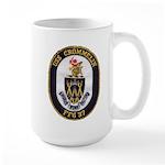 USS CROMMELIN Large Mug